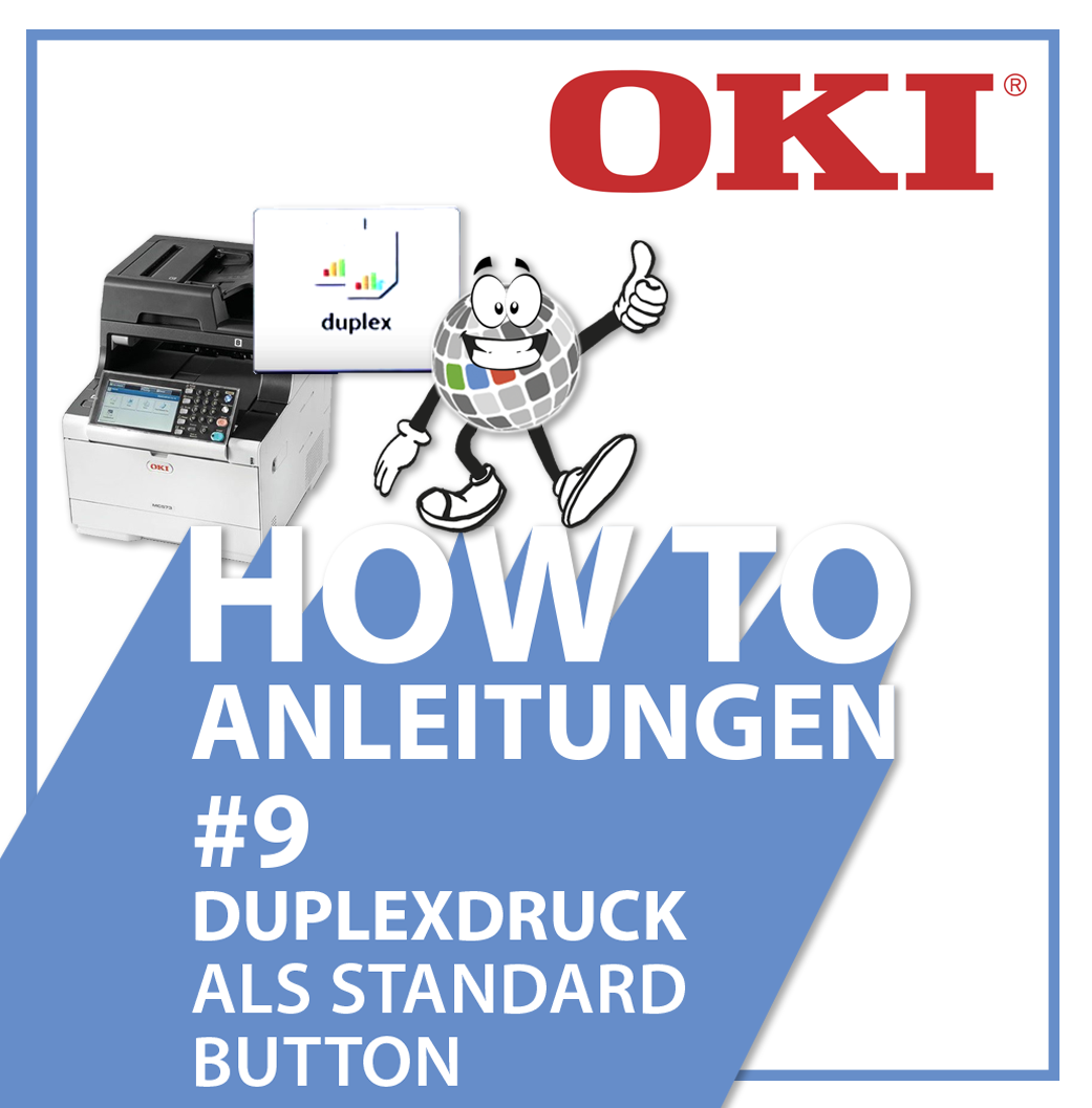 OKI Standardbutton für Duplexdruck
