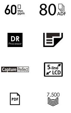 Canon imageFORMULA DR-M260 Features
