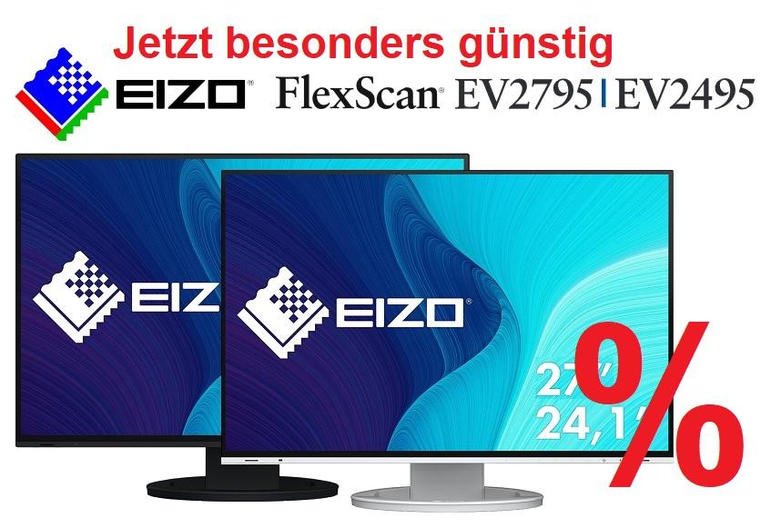 EIZO FlexScan EV2495 und EV2795 - jetzt besonders günstig