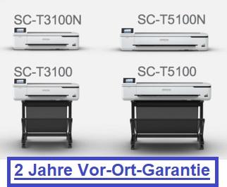 Epson SureColor SC-T3100 und SC-T5100 jetzt mit standardmäßig 2 Jahren Vor-Ort-Garantie