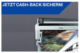 Epson Cashback-Aktion für SureColor SC-T-Modelle