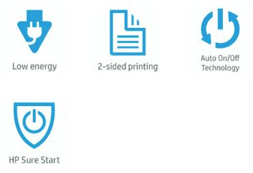 HP Color LaserJet Managed E65050 Features