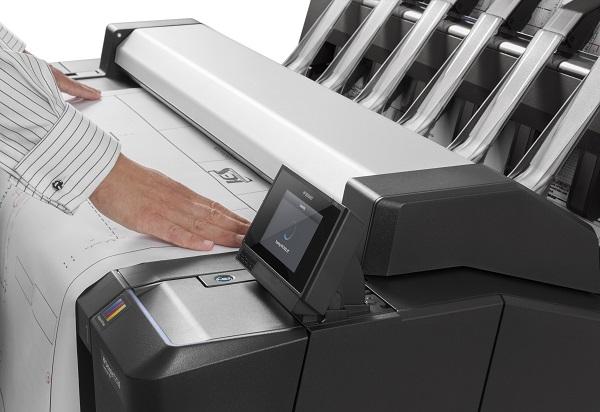HP Designjet T2530ps MFP im Einsatz