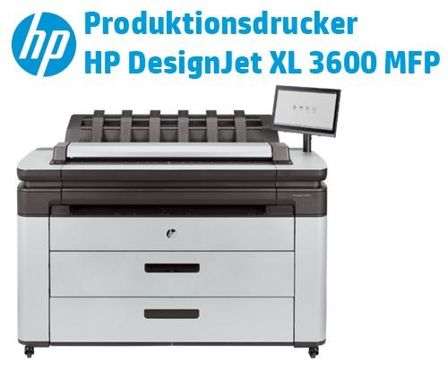 HP DesignJet XL 3600 MFP