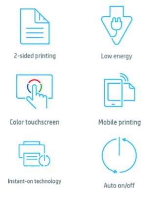 HP LaserJet Enterprise M612 Features