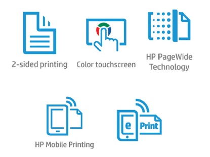 HP PageWide Managed P55250dw Features