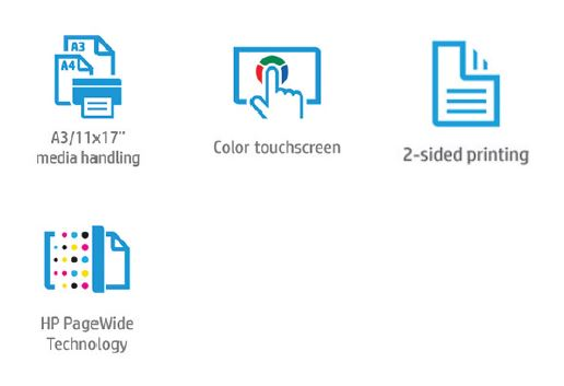 HP PageWide Color MFP 774 Features