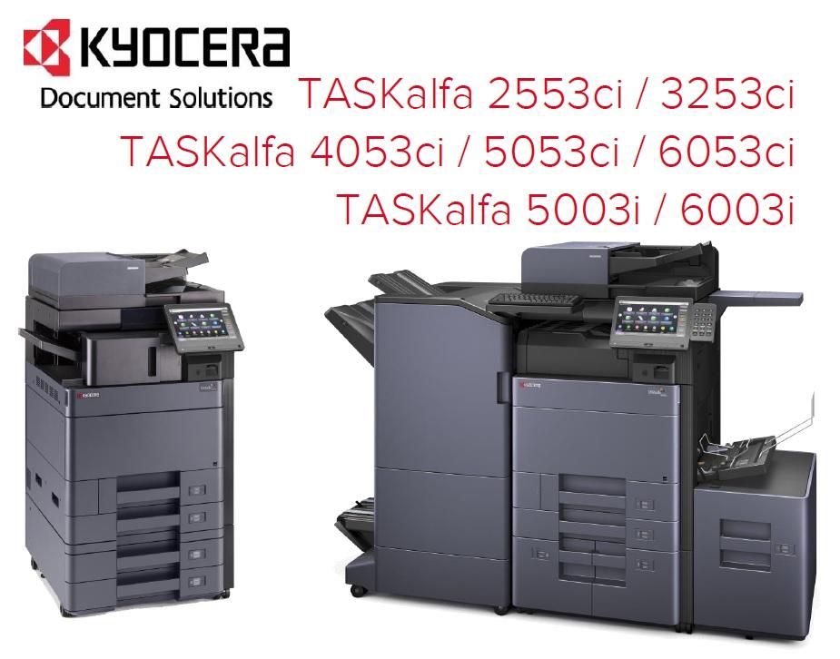 Neue Kyocera TASKalfa-Serien
